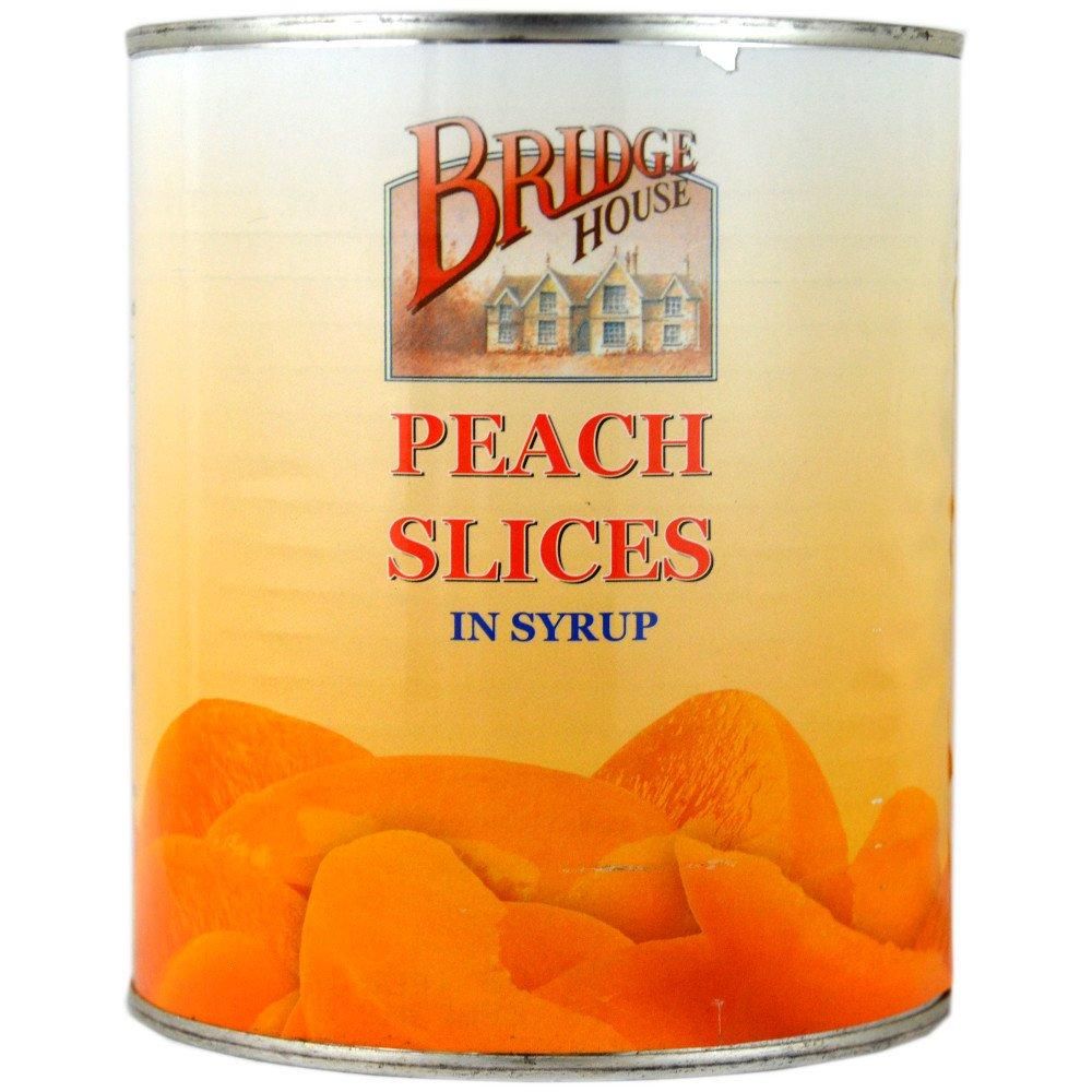 Bridge House Peach Slices In Syrup 825g