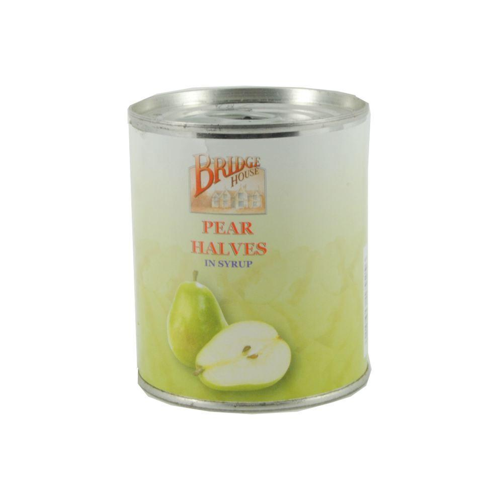 Bridge House Pear Halves In Syrup 220g