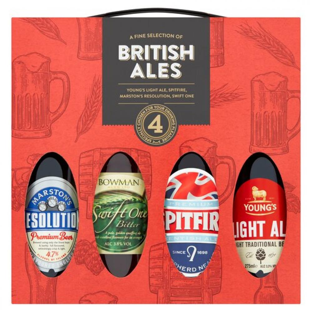 British Ale Selection 4 Pack