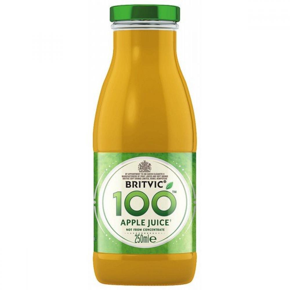 Britvic 100 Apple Juice 250ml