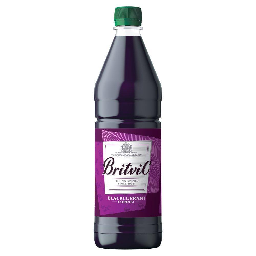 SALE  Britvic Blackcurrant Cordial 1 Litre