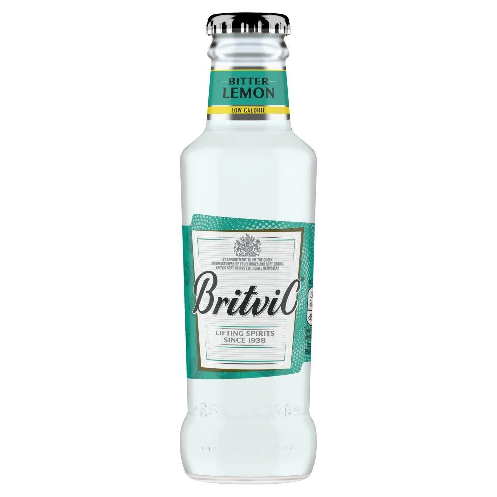 Britvic Low Calorie Bitter Lemon 200ml
