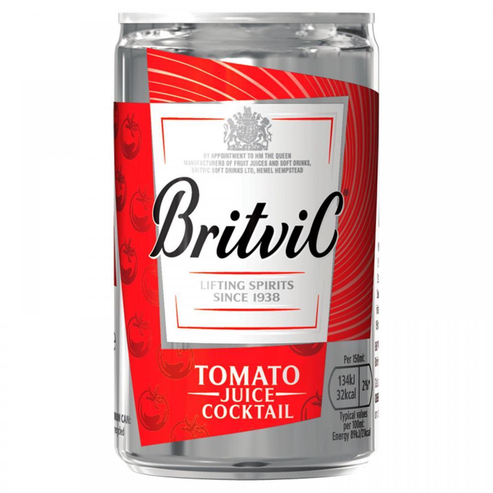 SALE  Britvic Tomato Juice Cocktail 150ml