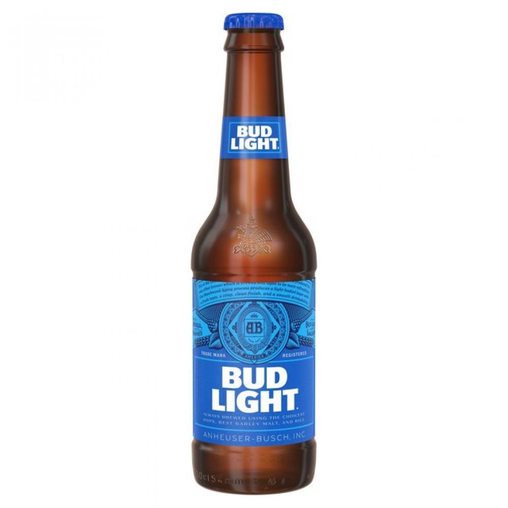 Bud Light Lager Bottle 300ml