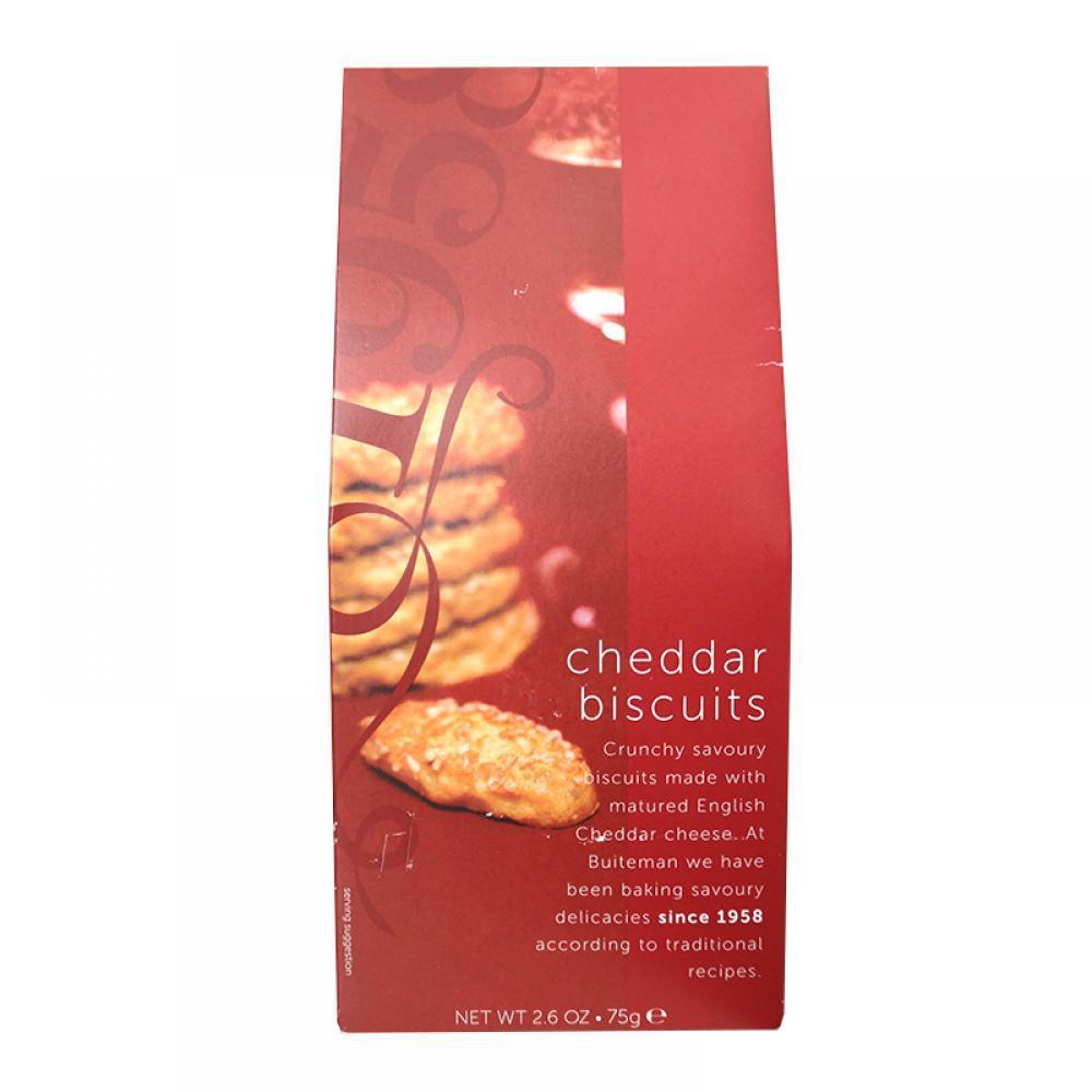 Buiteman Cheddar Biscuits 75g