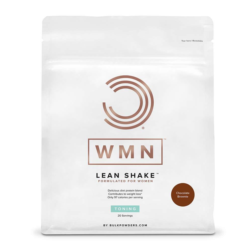 SALE  Bulk Powders WMN Lean Shake Chocolate Brownie 500g