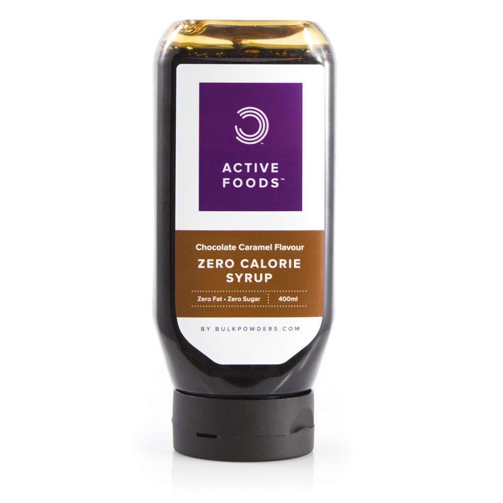 SALE  Bulk Powders Zero Calorie Chocolate Caramel Syrup 400ml