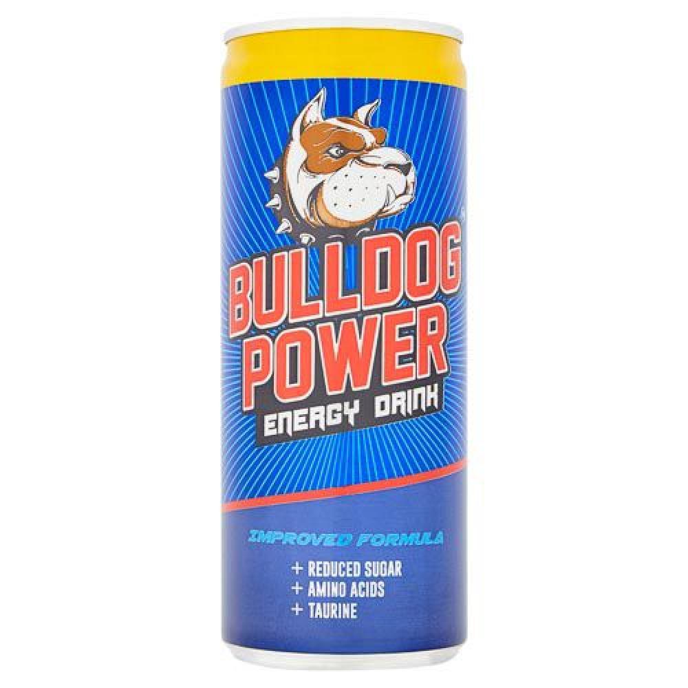 Bulldog Power Energy Drink Sugar Free 250ml