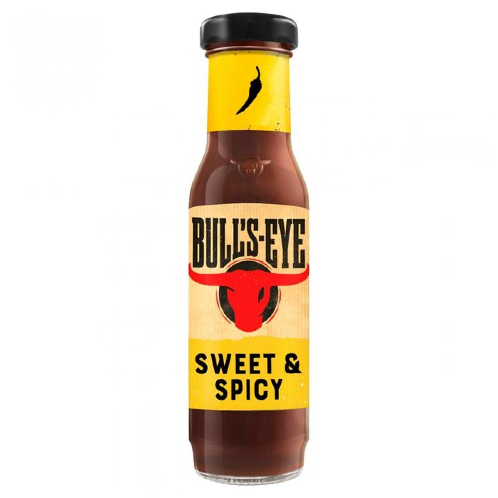 20 UNDER 20  Bulls-Eye Memphis Style Sweet and Spicy Hot Sauce 235ml