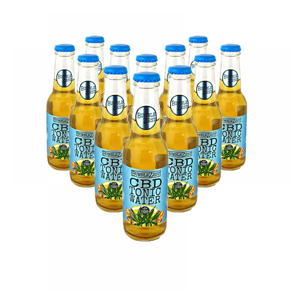 CASE PRICE  BumbleZest CBD Tonic Water 12 x 200ml
