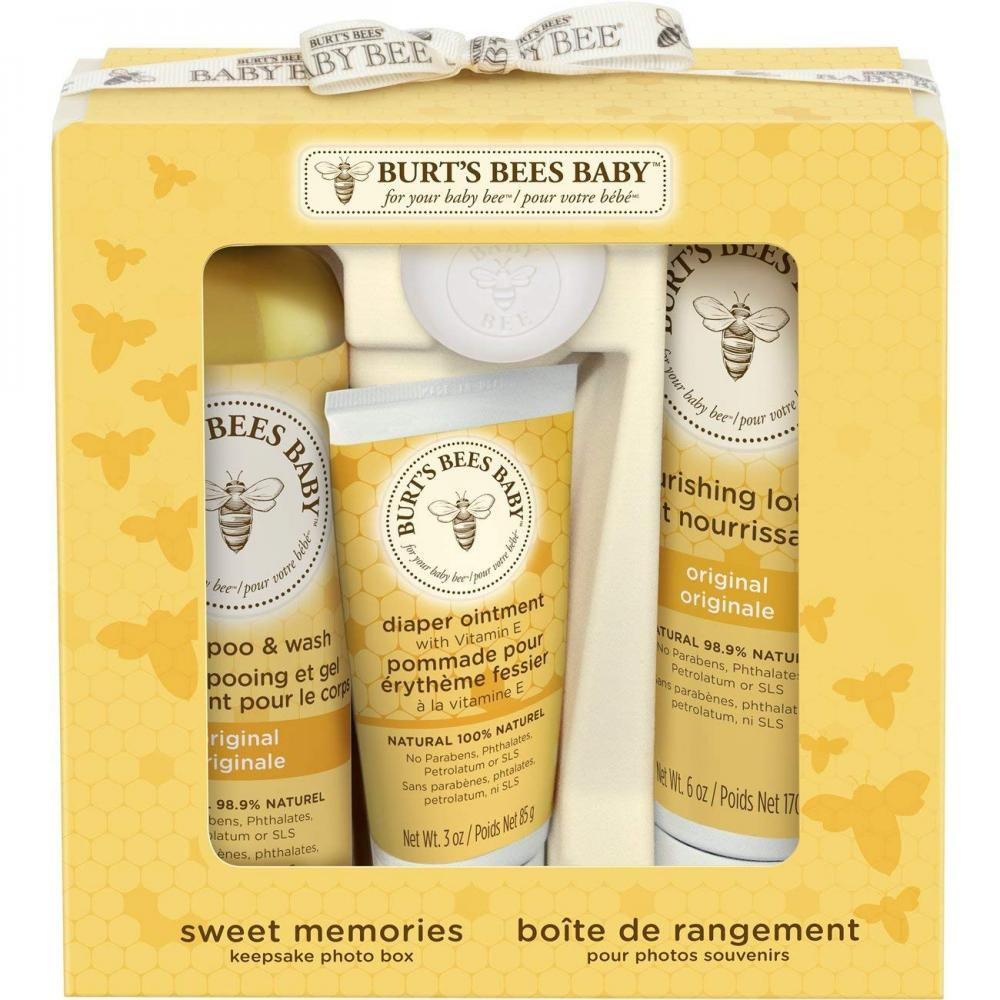 Burts Bees Baby Sweet Memories Keepsake Photo Box