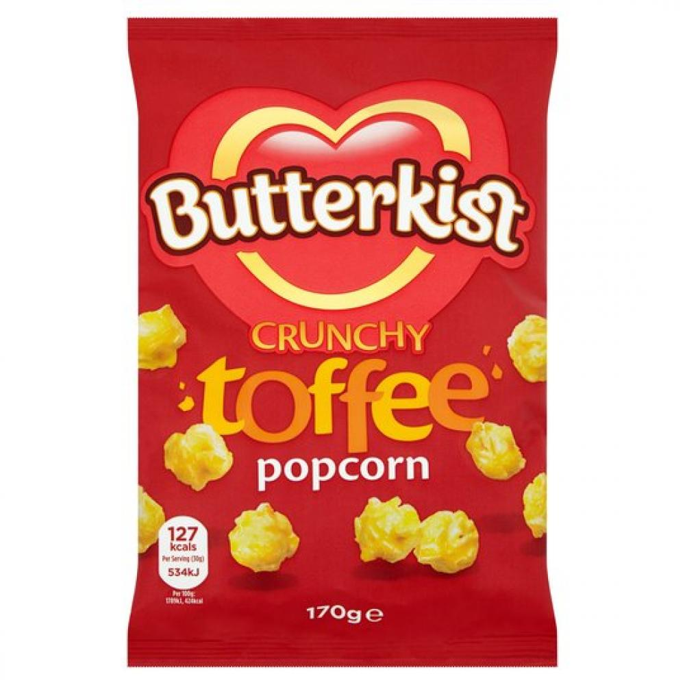TODAY ONLY  Butterkist Crunchy Toffee Popcorn 170g