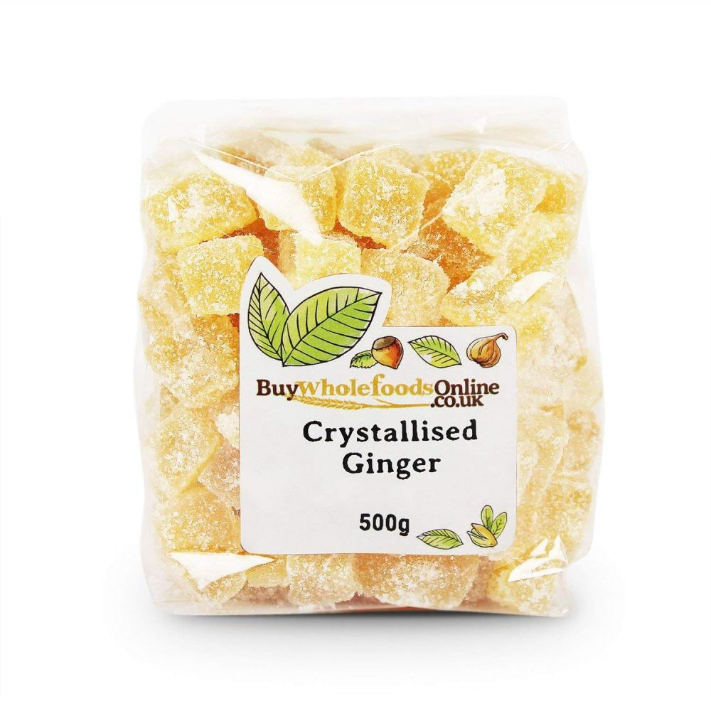 Buy Whole Foods Crystallised Ginger 500 g