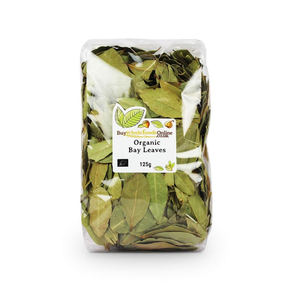 Buy Whole Foods Organic Bay Leaves 125g