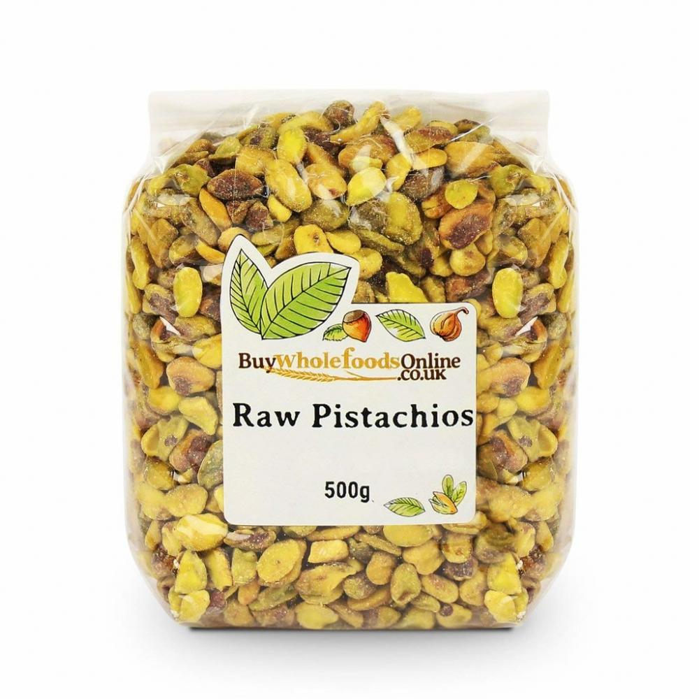 Buy Whole Foods Pistachio Nuts Raw 500g