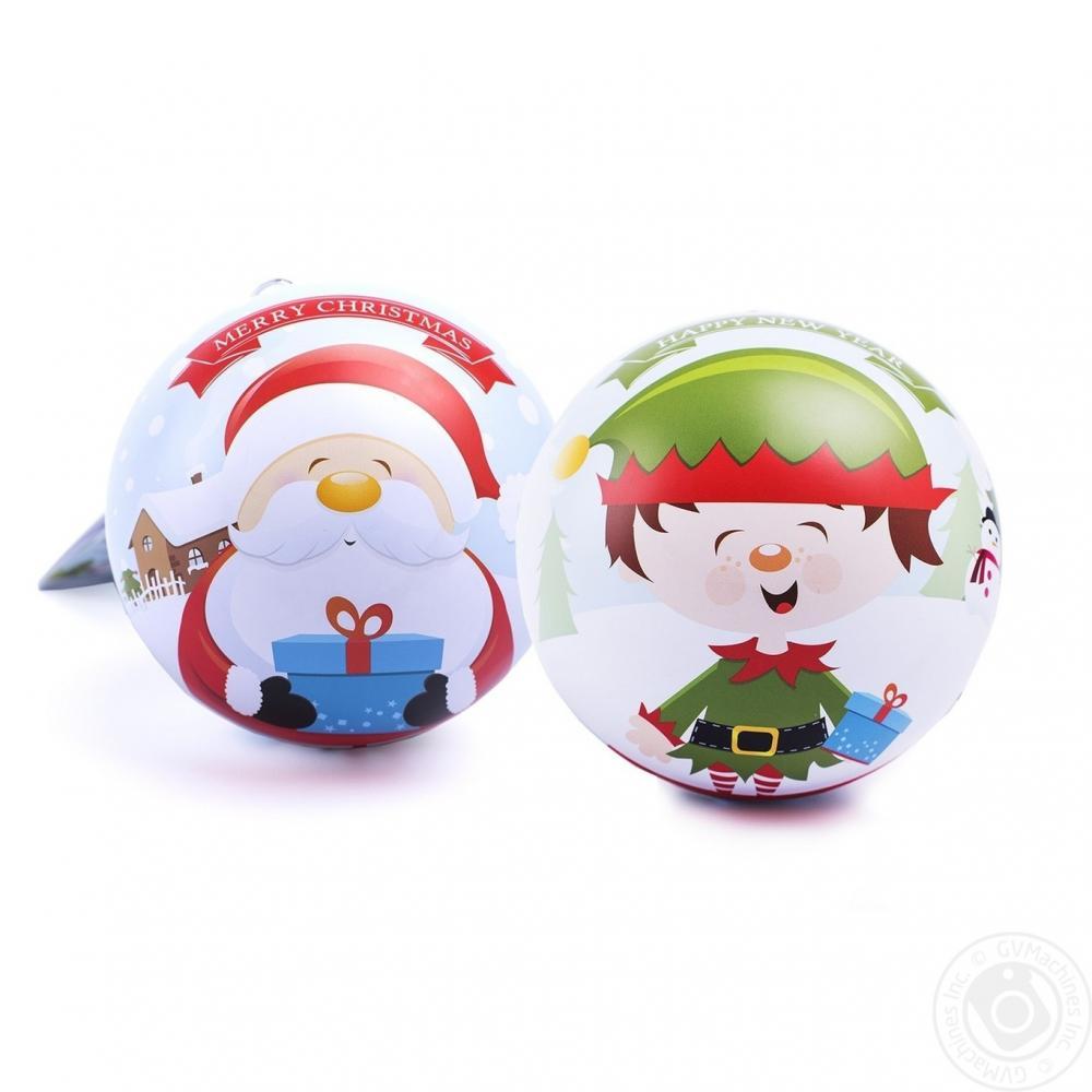 Cachet Tin Ball Christmas Chocolates 130g