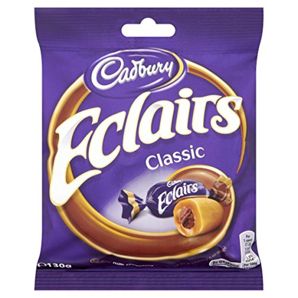 Cadbury Chocolate Classic Eclairs 130g