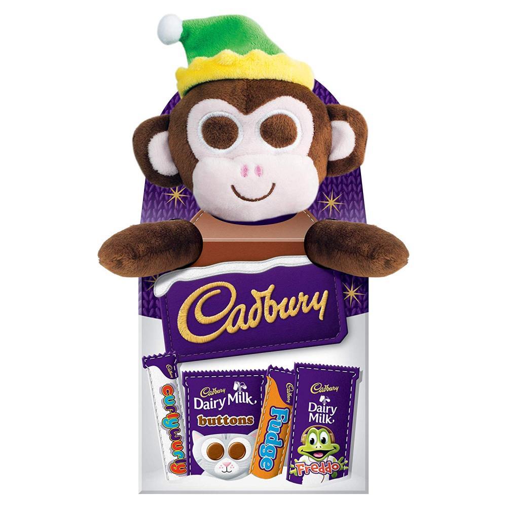 Cadbury Christmas Selection Box Plush Toy 70g