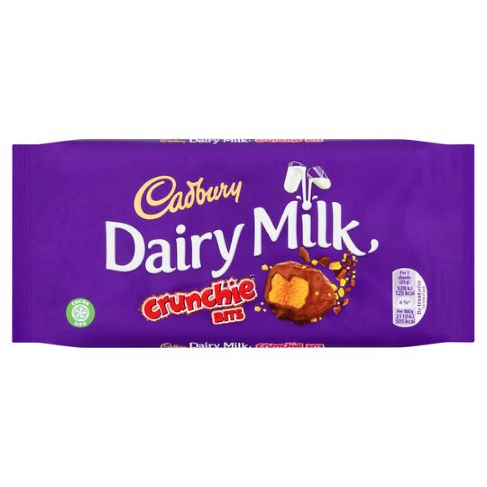 Cadbury Dairy Milk Crunchie Bits 200g