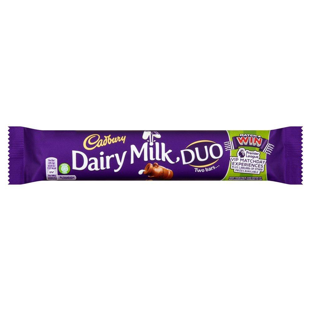 Cadbury Dairy Milk Duo 58.6g