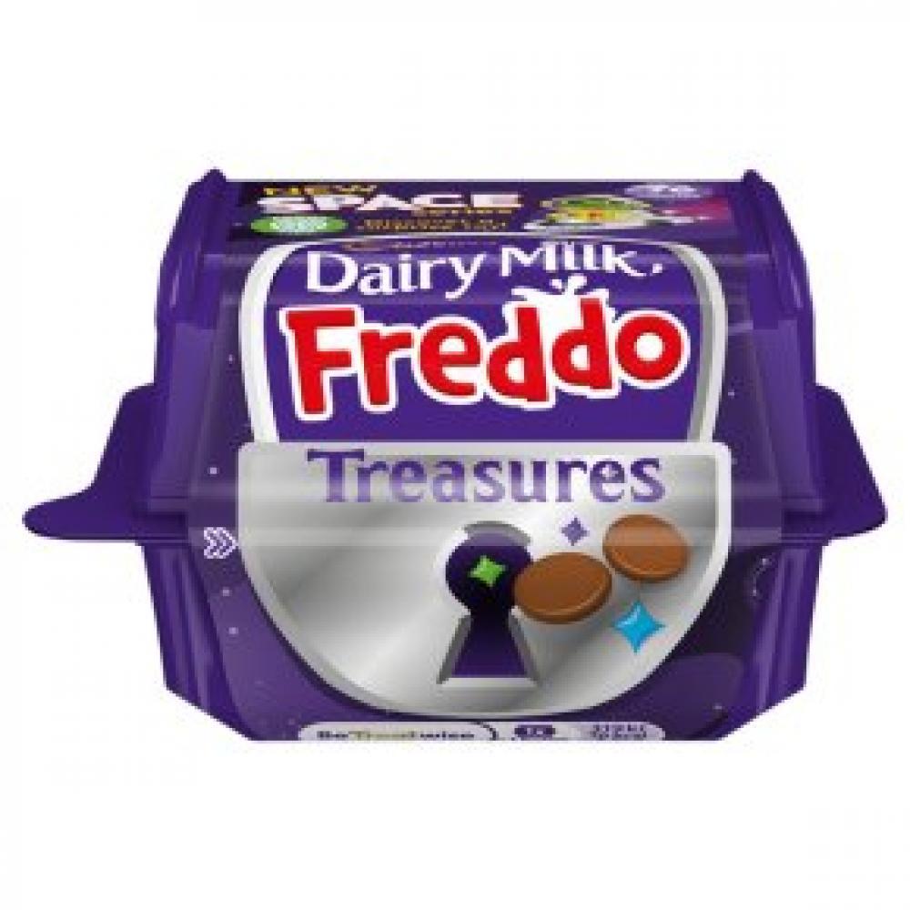 CASE PRICE  Cadbury Dairy Milk Freddo Treasures 24 x 14.4g