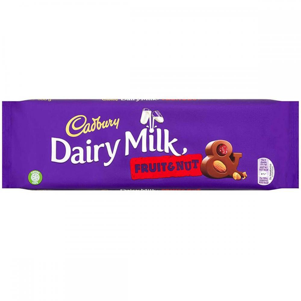 Cadbury Dairy Milk Fruit and Nut 300g
