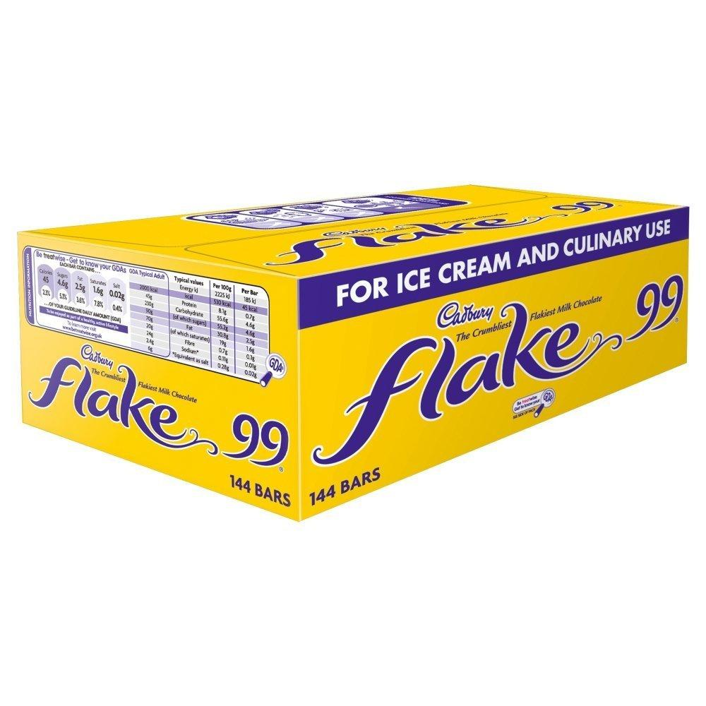Cadbury Flake 99 144 Bars