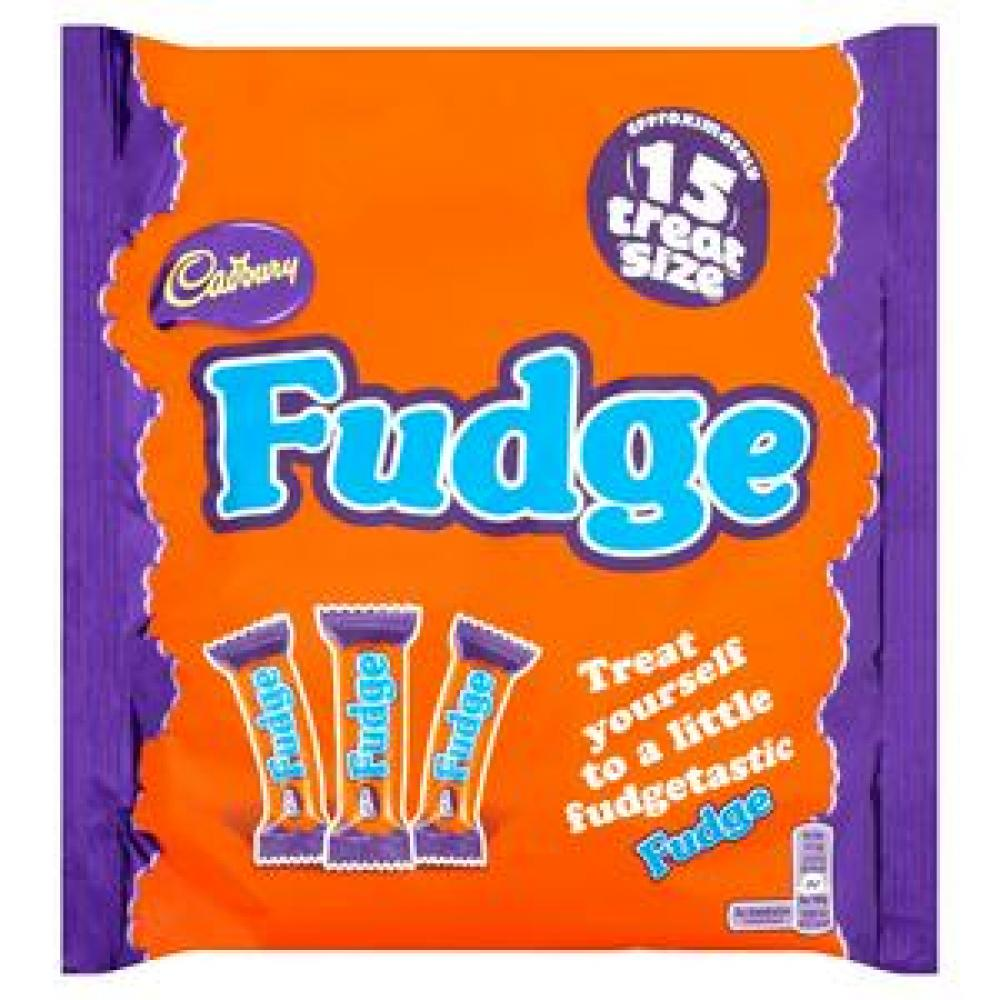 Cadbury Fudge 15 Treat Size 202g