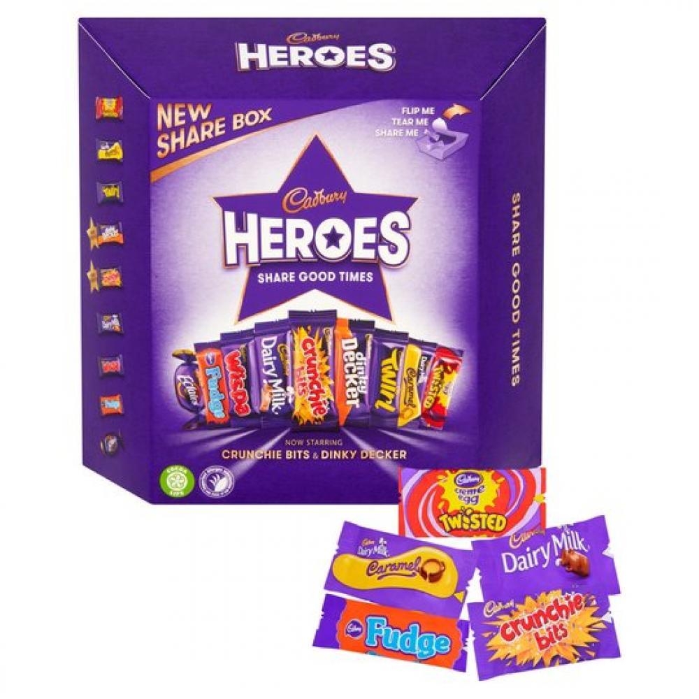 Cadbury Heroes 385g