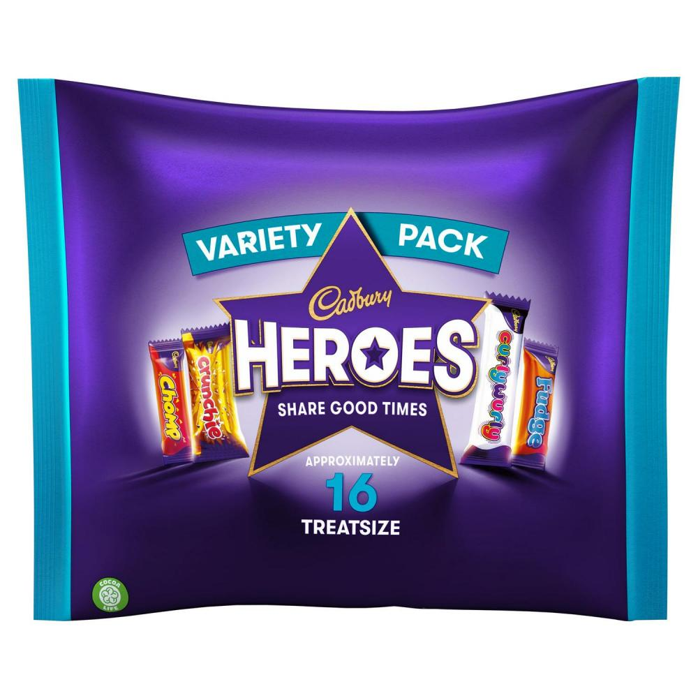 Cadbury Heroes Treatsize 225g