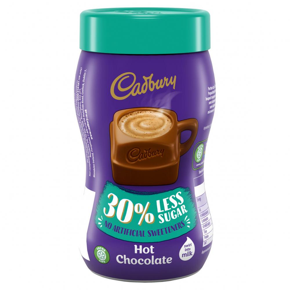 Cadbury Hot Chocolate 30 Percent Less Sugar 280g