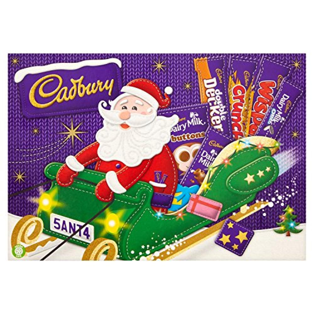 Cadbury Medium Santa Selection 169g