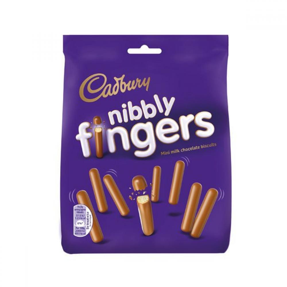 Cadbury Nibbly Fingers 125g