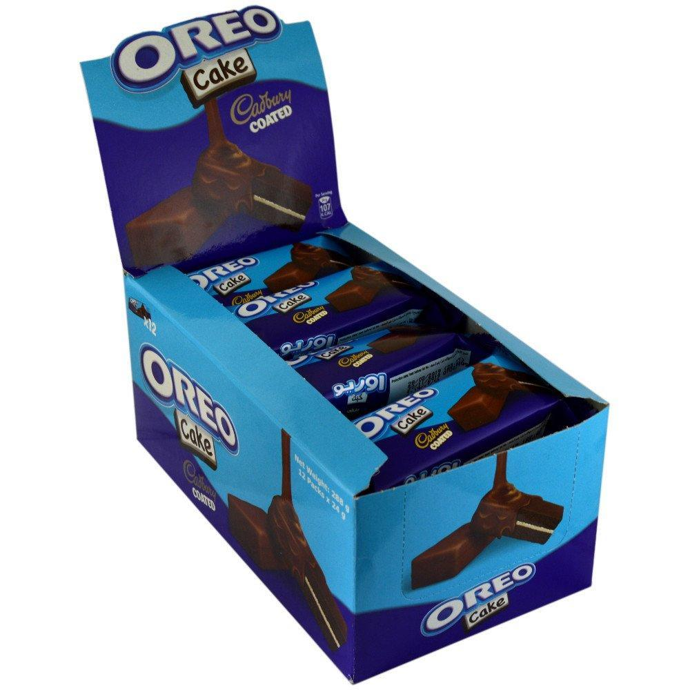 CASE PRICE  Cadbury Oreo Cake Bar 12 x 24g