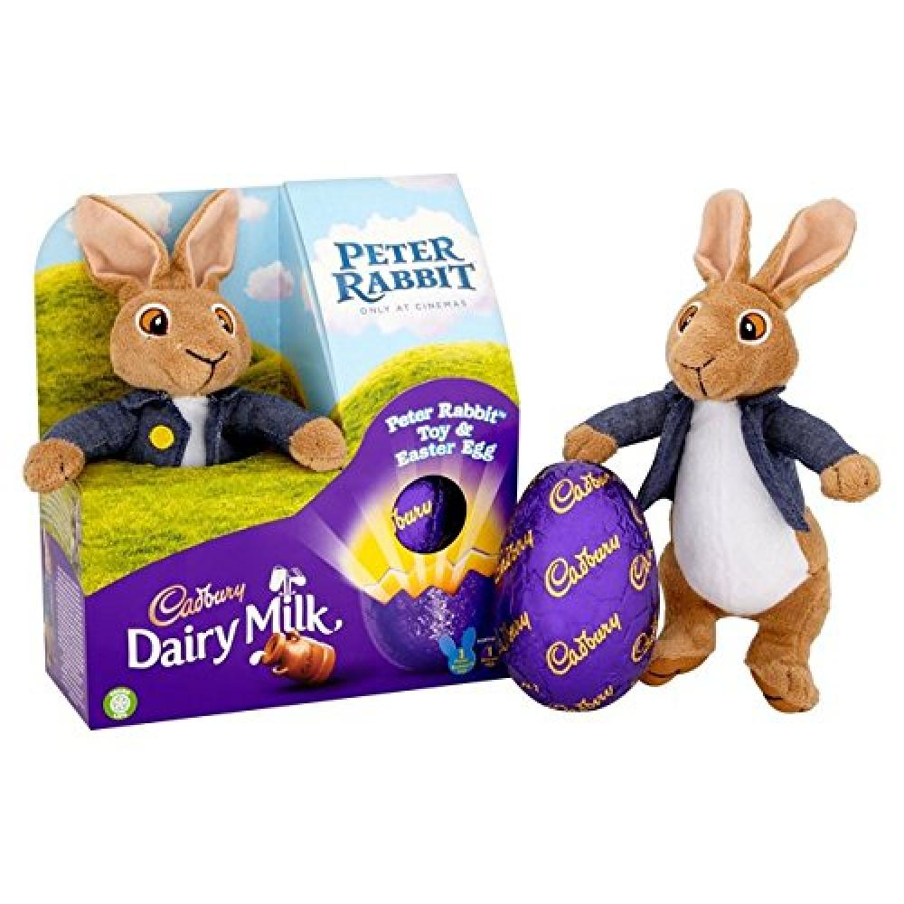 Cadbury Peter Rabbit Toy and Easter Chocolate Egg 72g