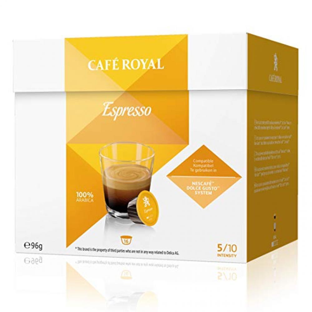 Cafe Royal Espresso 16 Coffee Capsules 96g