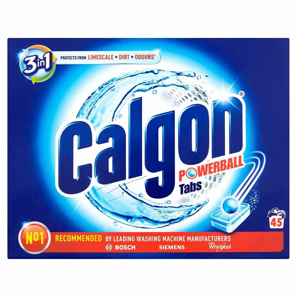 Calgon 3in1 Powerball Tabs 45