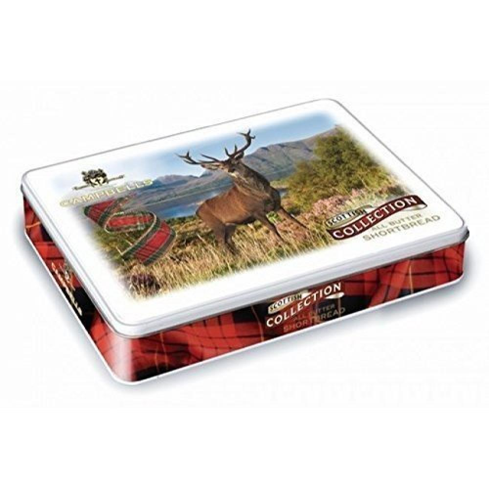 Campbells All Butter Shortbread Stag Collection 120g