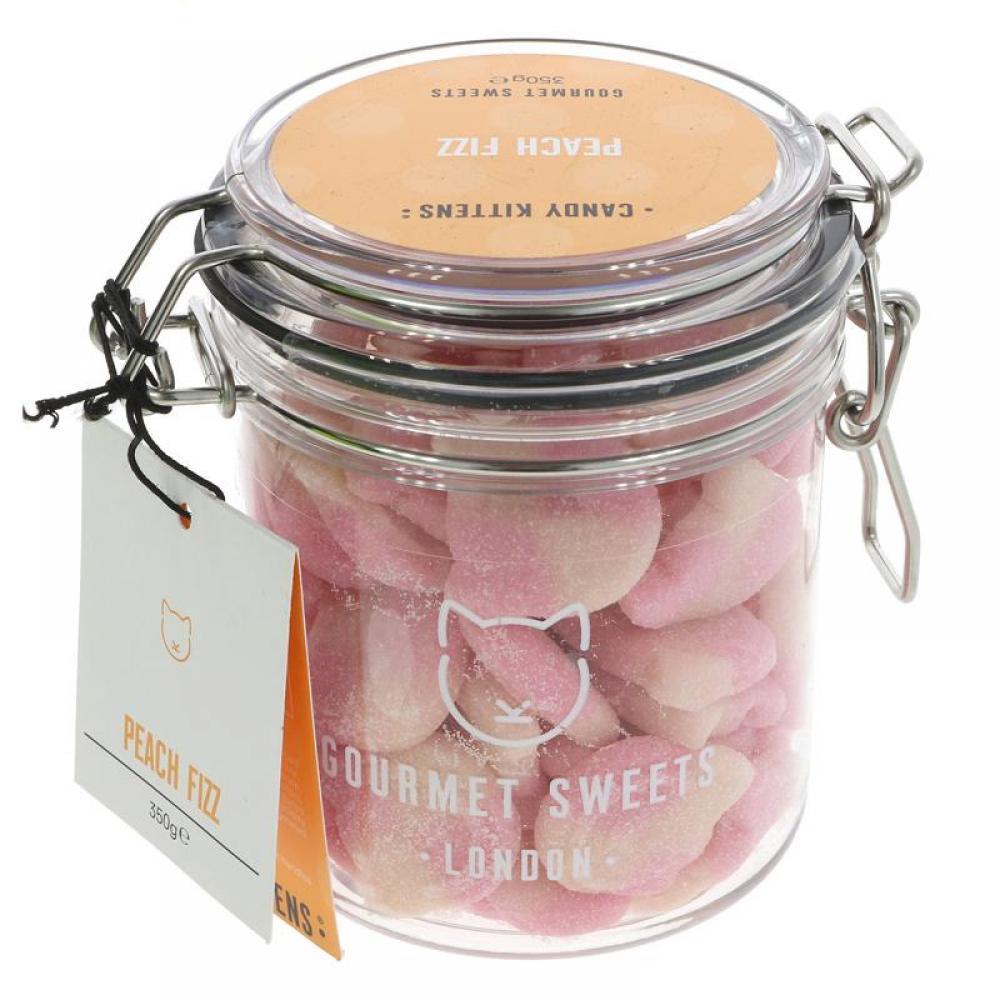 Candy Kittens Gourmet Sweets Peach Fizz 350g