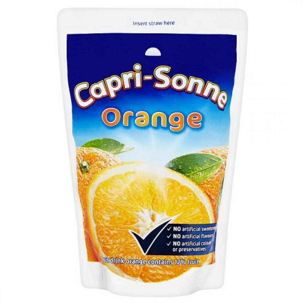 Capri Sun Orange Juice Drink 200ml