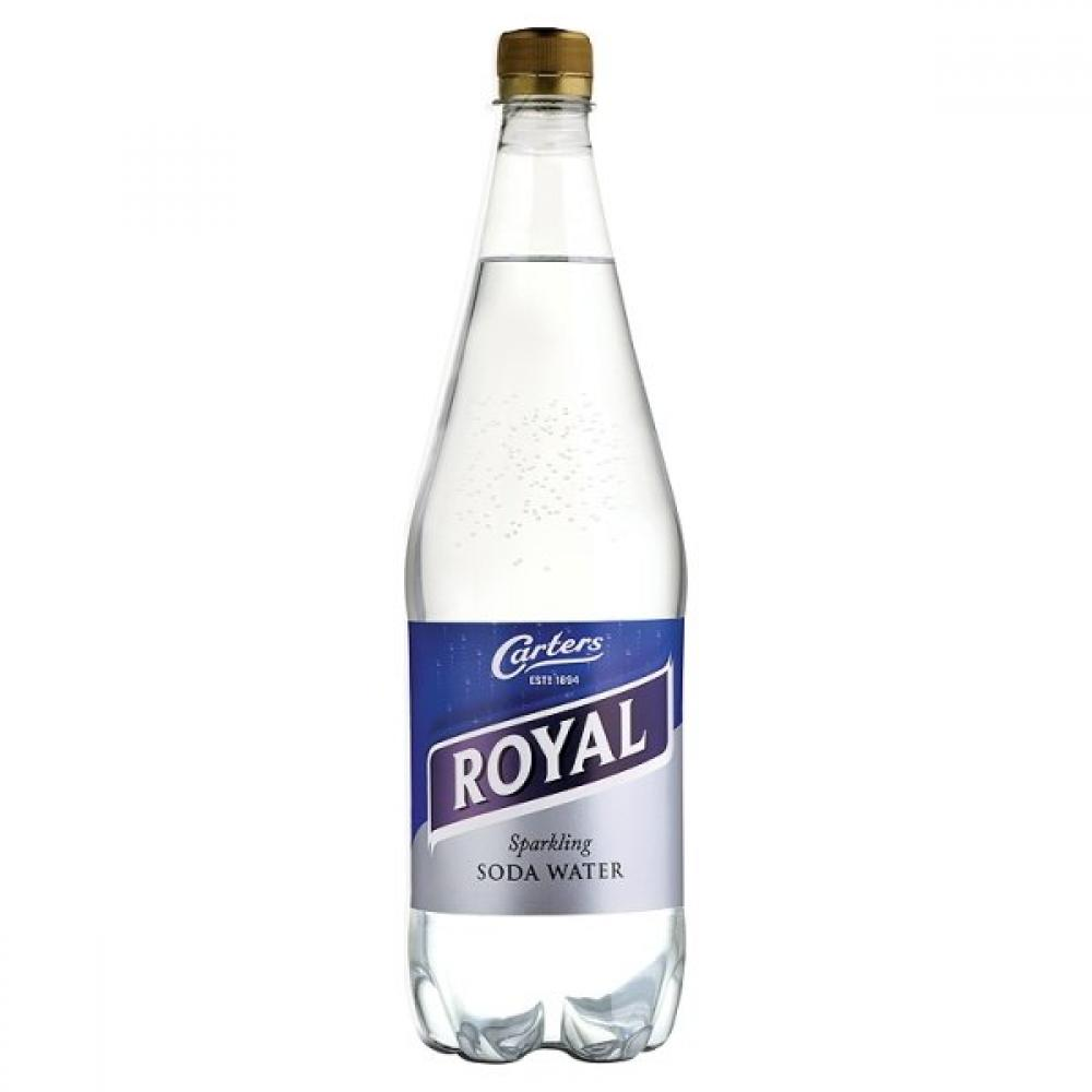 Carters Royal Sparkling Soda Water 1 Litre