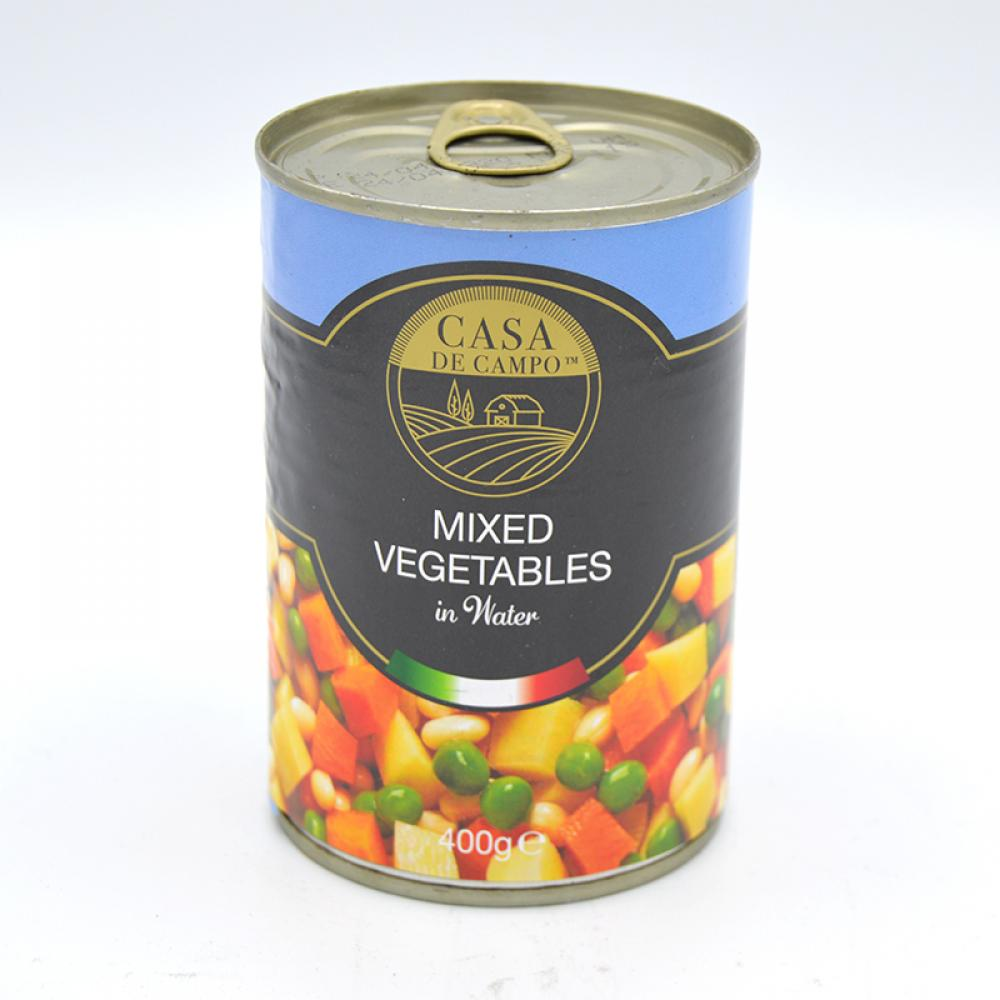 Casa De Campo Mixed Vegetables In Water 400g