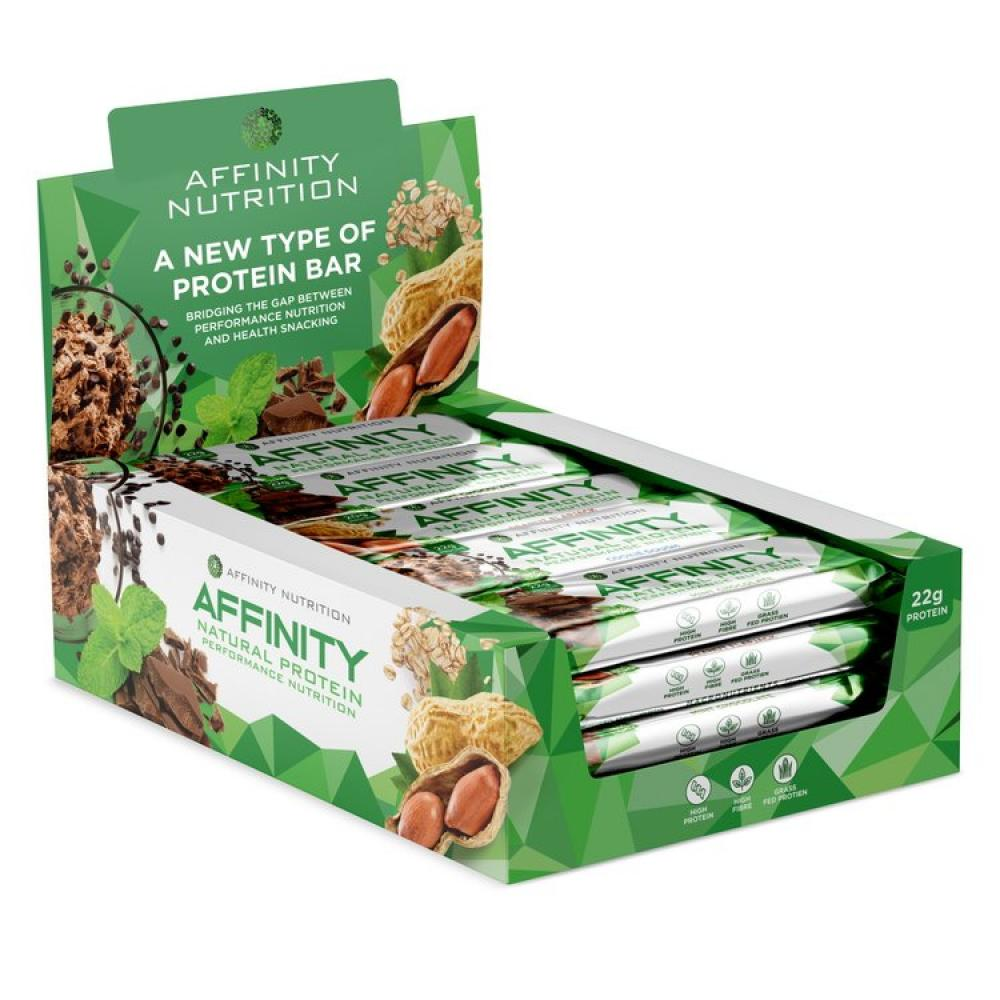 CASE PRICE  Affinity Protein Bar Mixed Flavours 12 x 63g