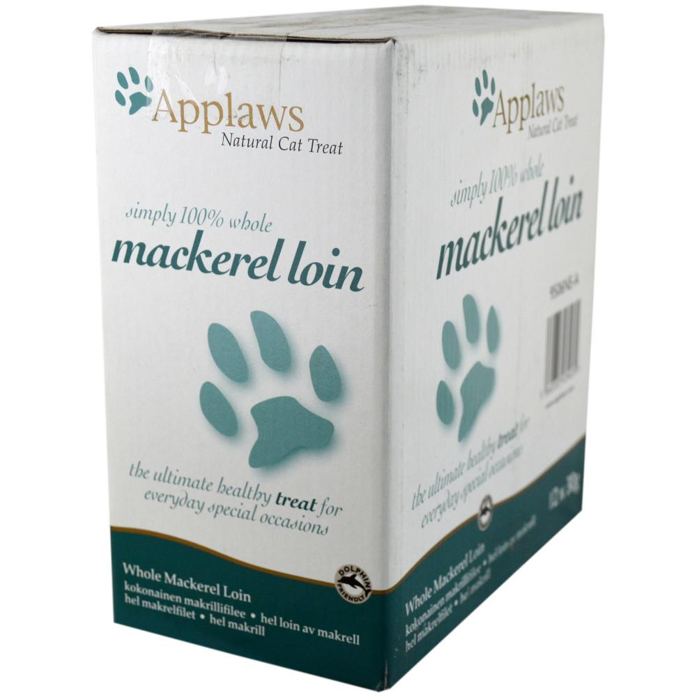 CASE PRICE  Applaws Cat Food Mackerel Loin 30g x 12