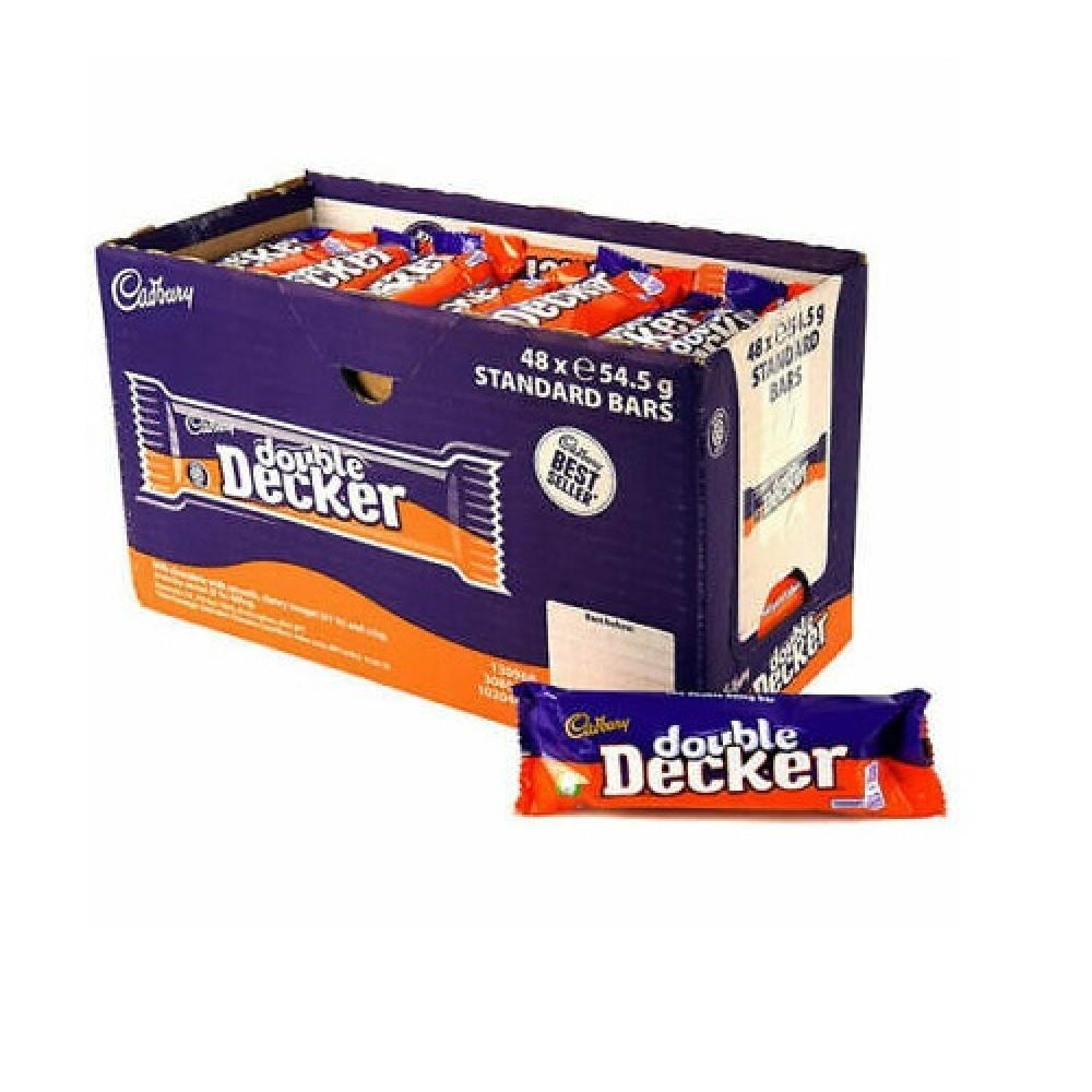 CASE PRICE  Cadbury Double Decker 48 x 54.5g