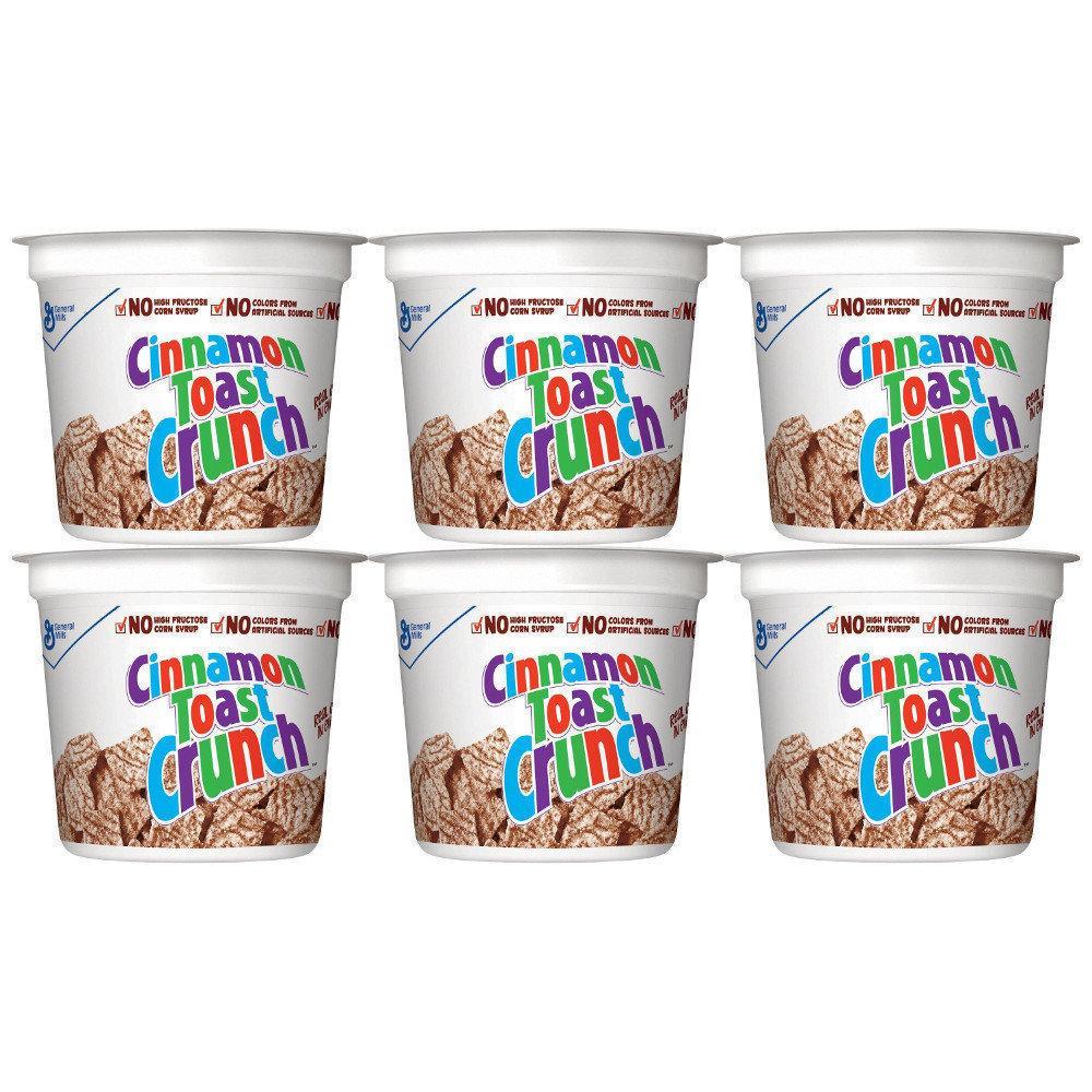 CASE PRICE  General Mills Cinnamon Toast Crunch 56g x 6