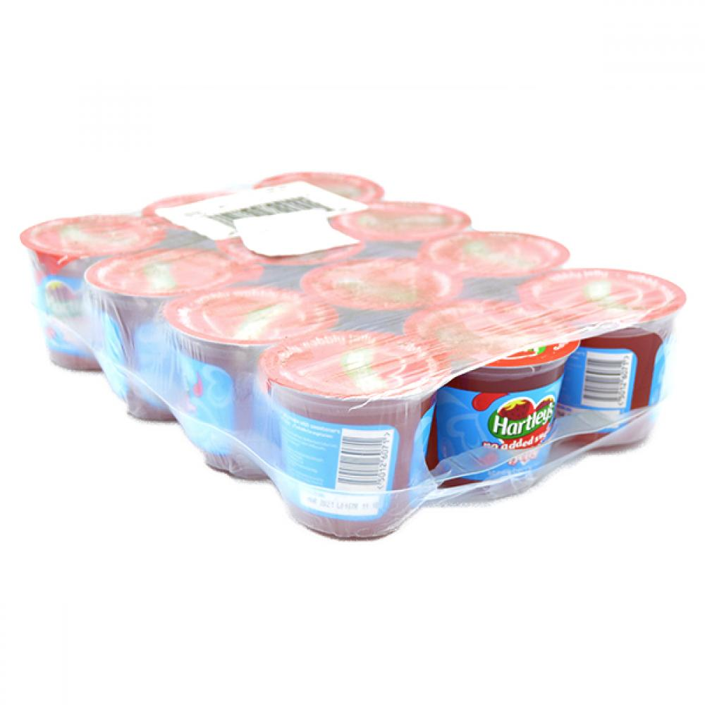 CASE PRICE  Hartleys Strawberry Flavour Jelly 12 x 115g