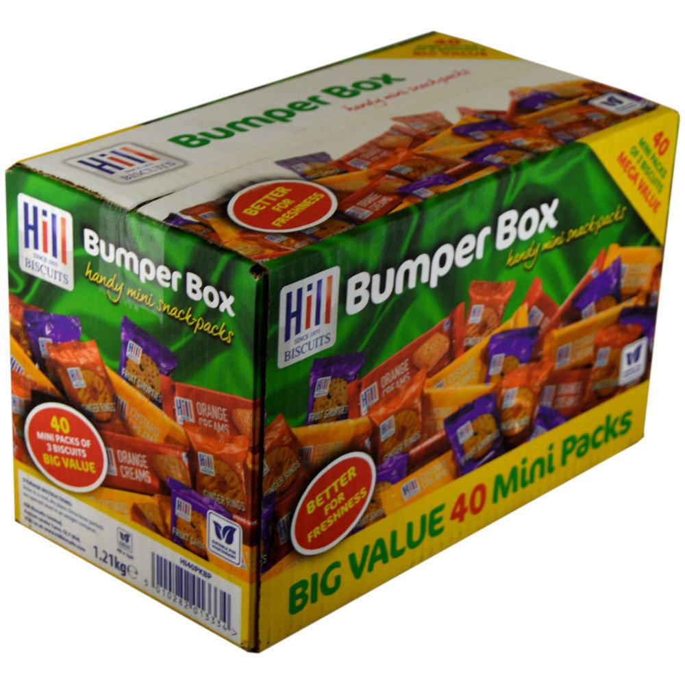CASE PRICE  Hill Biscuits Bumper Box 1.21kg 40 packs