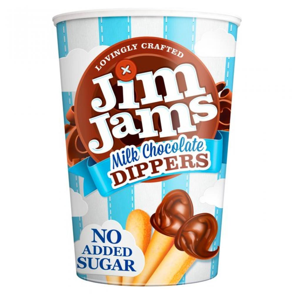 CASE PRICE  Jim Jams Milk Chocolate Dippers x12
