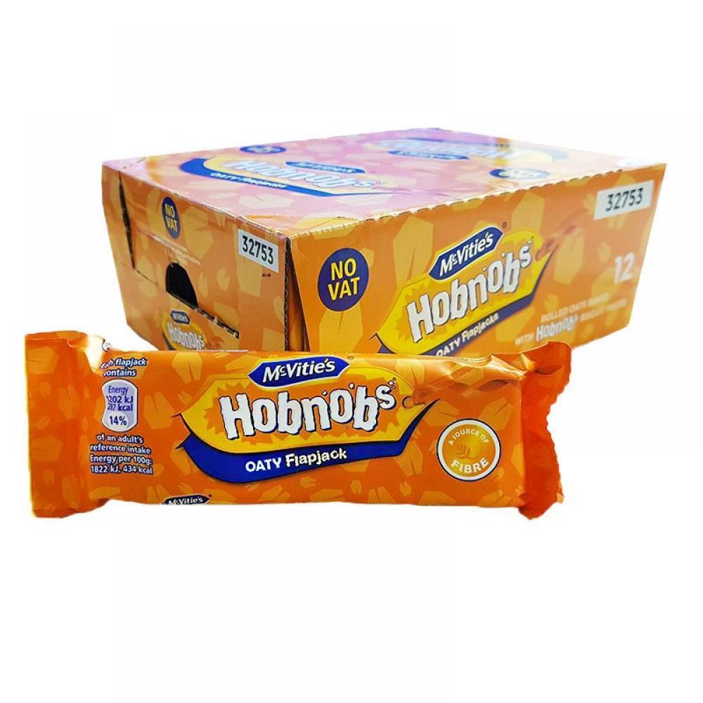CASE PRICE  McVities Hobnobs Oaty Flapjacks 61g x 12